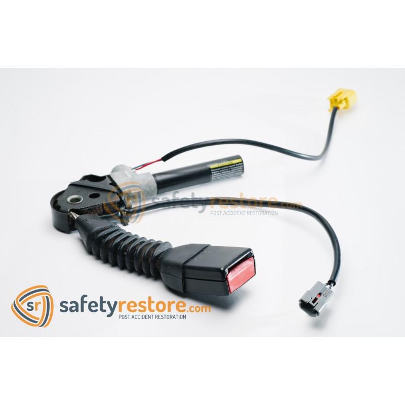 How to fix seat belt retractor