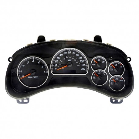 2005 chevy impala instrument cluster problems