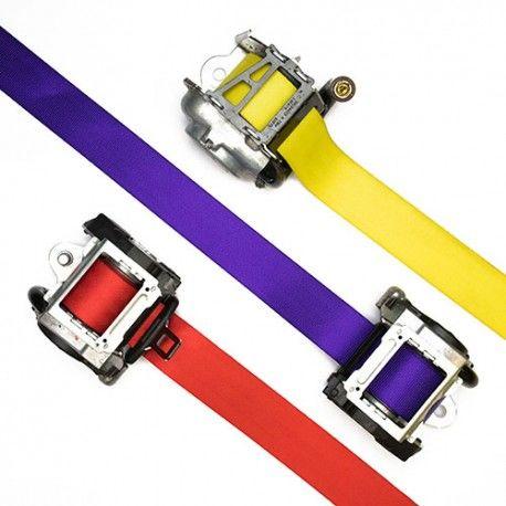 Custom Color Seat Belts