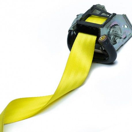 Yellow Seat Belt Webbing Replacement