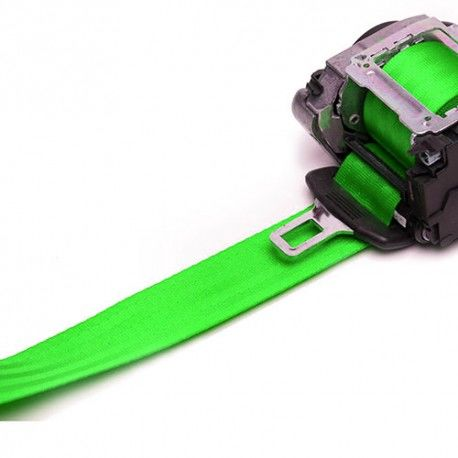 Neon Green Seat Belt Webbing Replacement