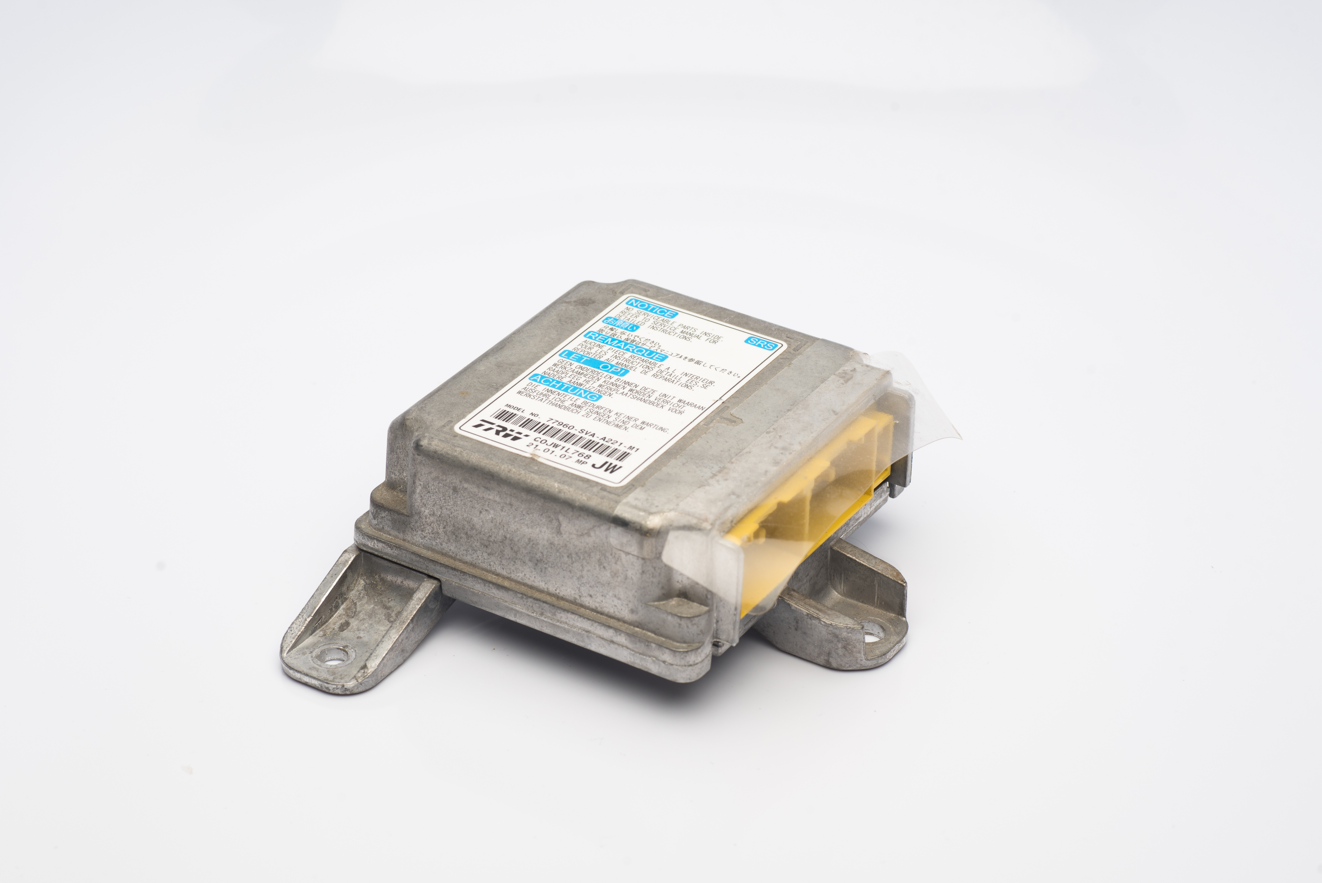 Airbag Light Reset