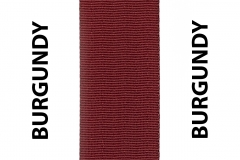 Burgundy Seat Belts Webbing