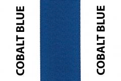 Cobalt Blue Seat Belts Webbing