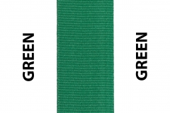 Green Seat Belts Webbing
