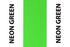 Neon Green Seat Belts Webbing