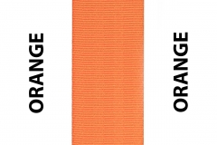 Orange Seat Belts Webbing