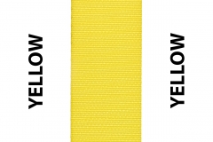Yellow Seat Belts Webbing