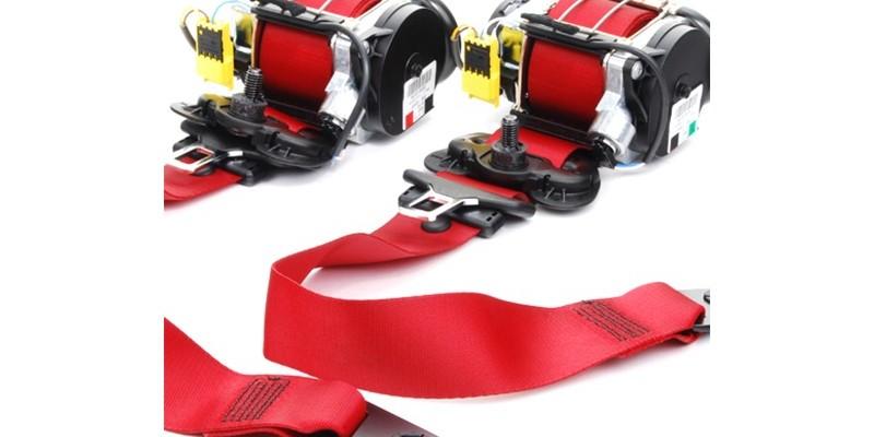 Custom color seat belt webbing replacement