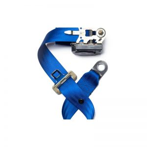 Blue Seat Belt Webbing