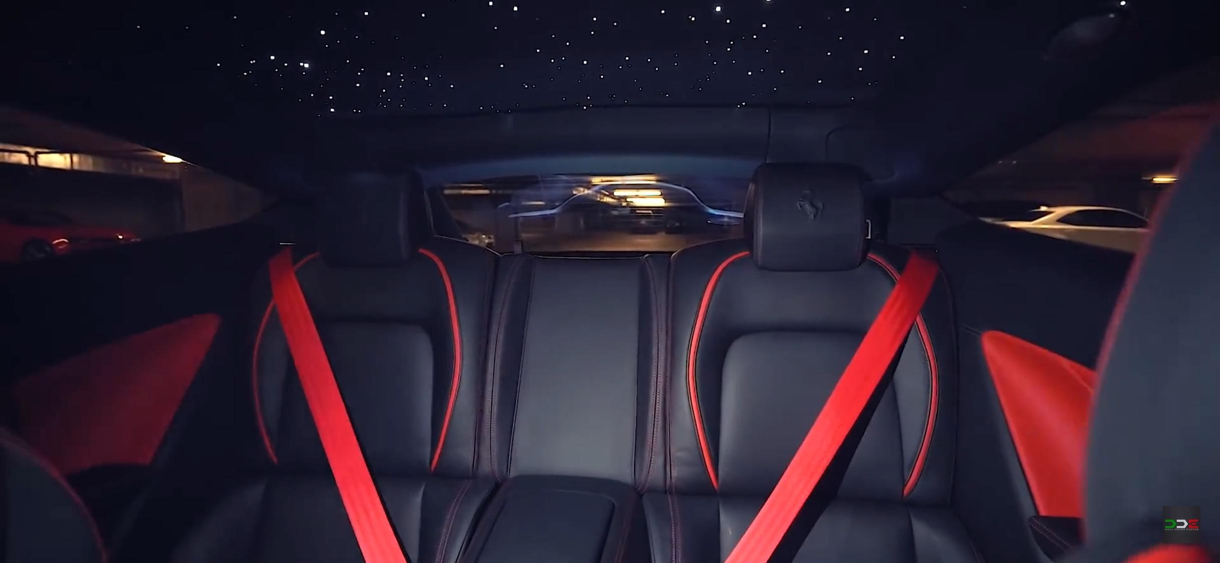Ferrari Red Seat Belts