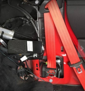 Red Seat Belt For Sale