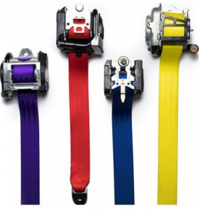 Coloured Seat Belts For Sale
