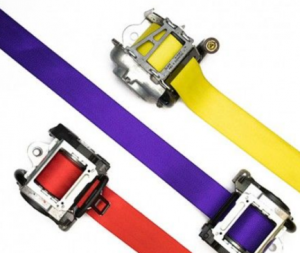 Seat Belt Webbing Colors