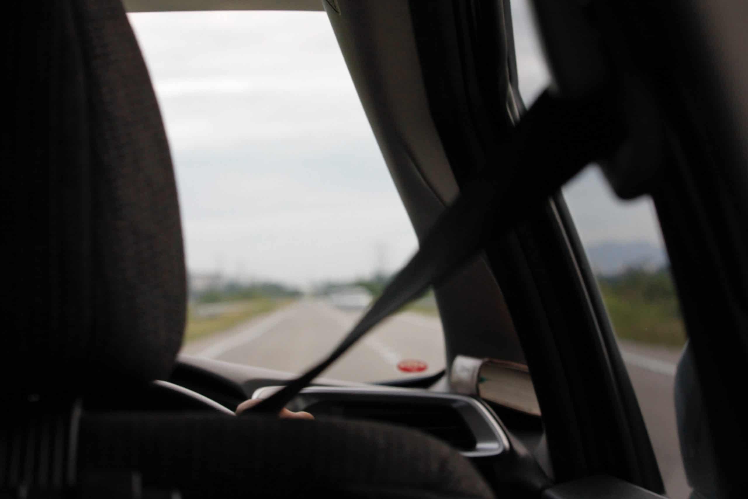 seat belts in car